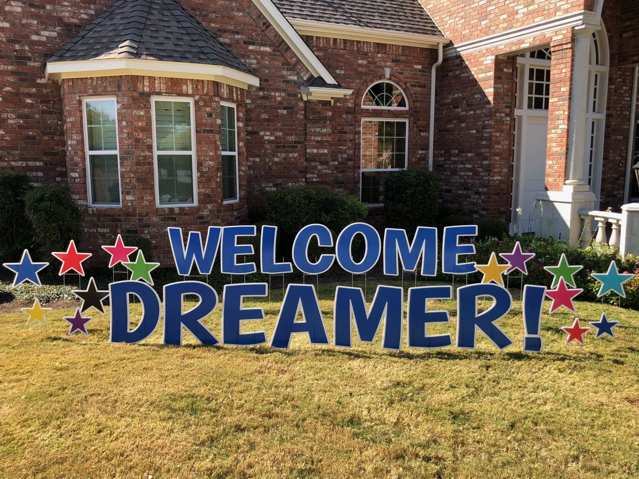 Welcome Picture for Starting a Yard Sign Yard Greeting Business