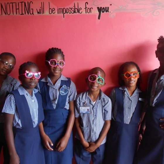 Jamaica Christian School for the Deaf Silly Glasses Day