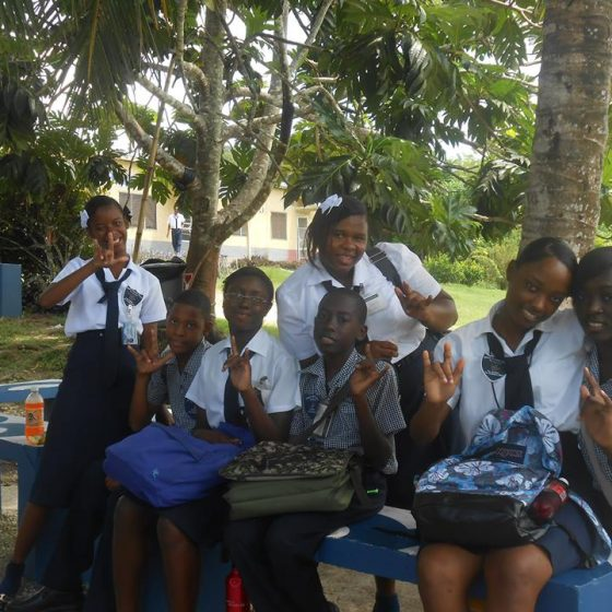 Jamaica Christian School for the Deaf Lunchtime
