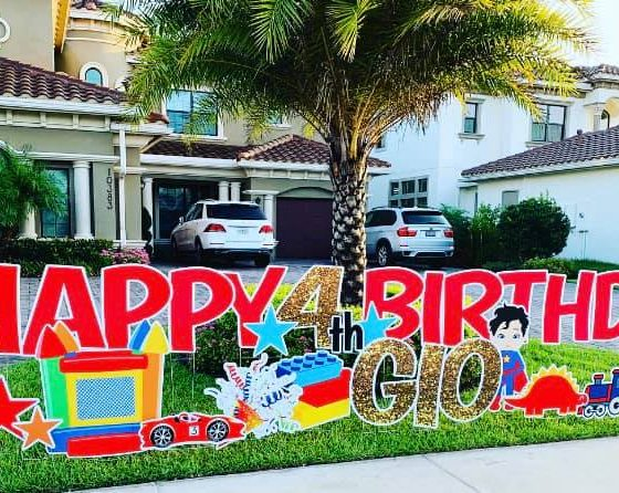 HAPPY 4TH BIRTHDAY GIO